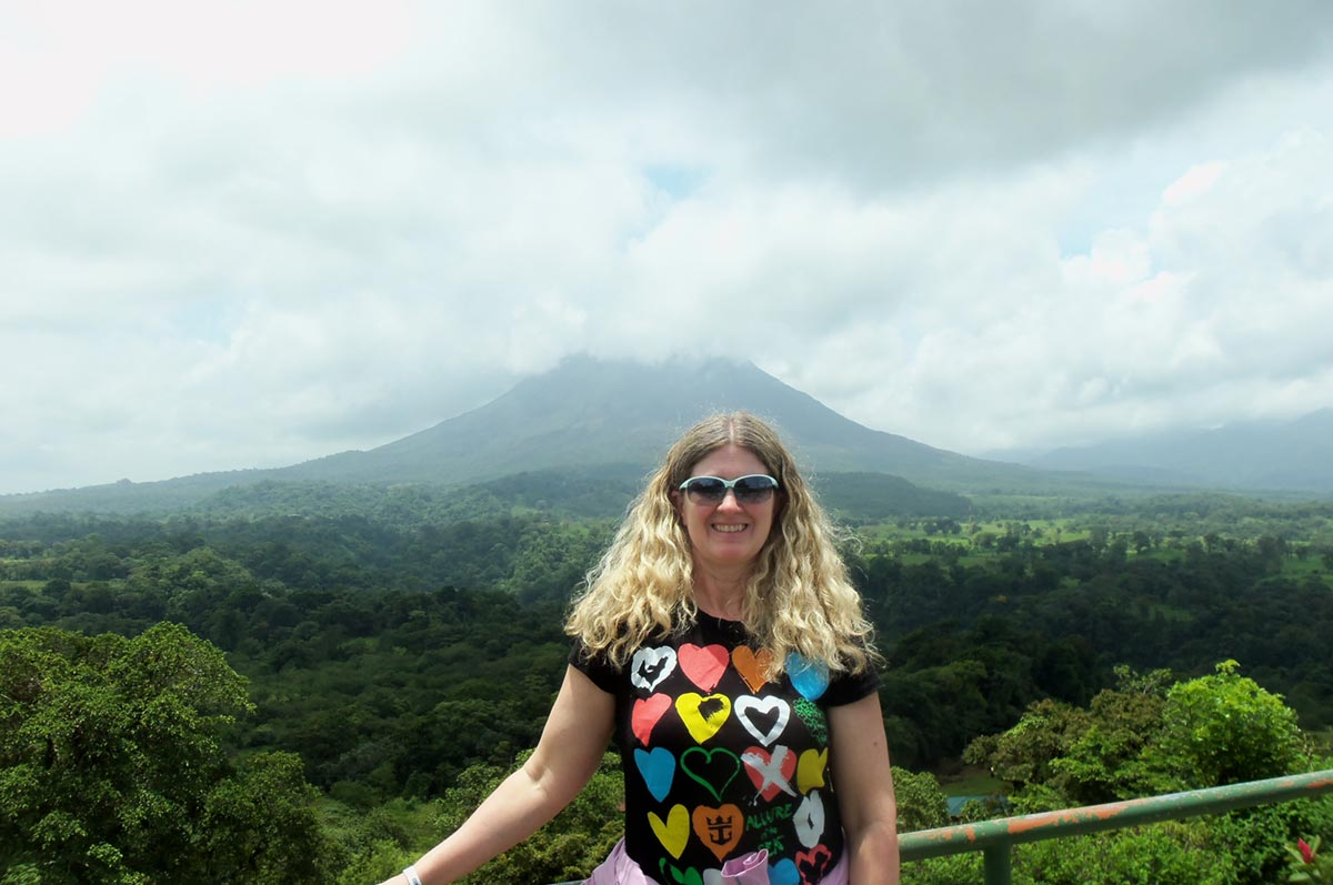 Julie Georgen in Costa Rica